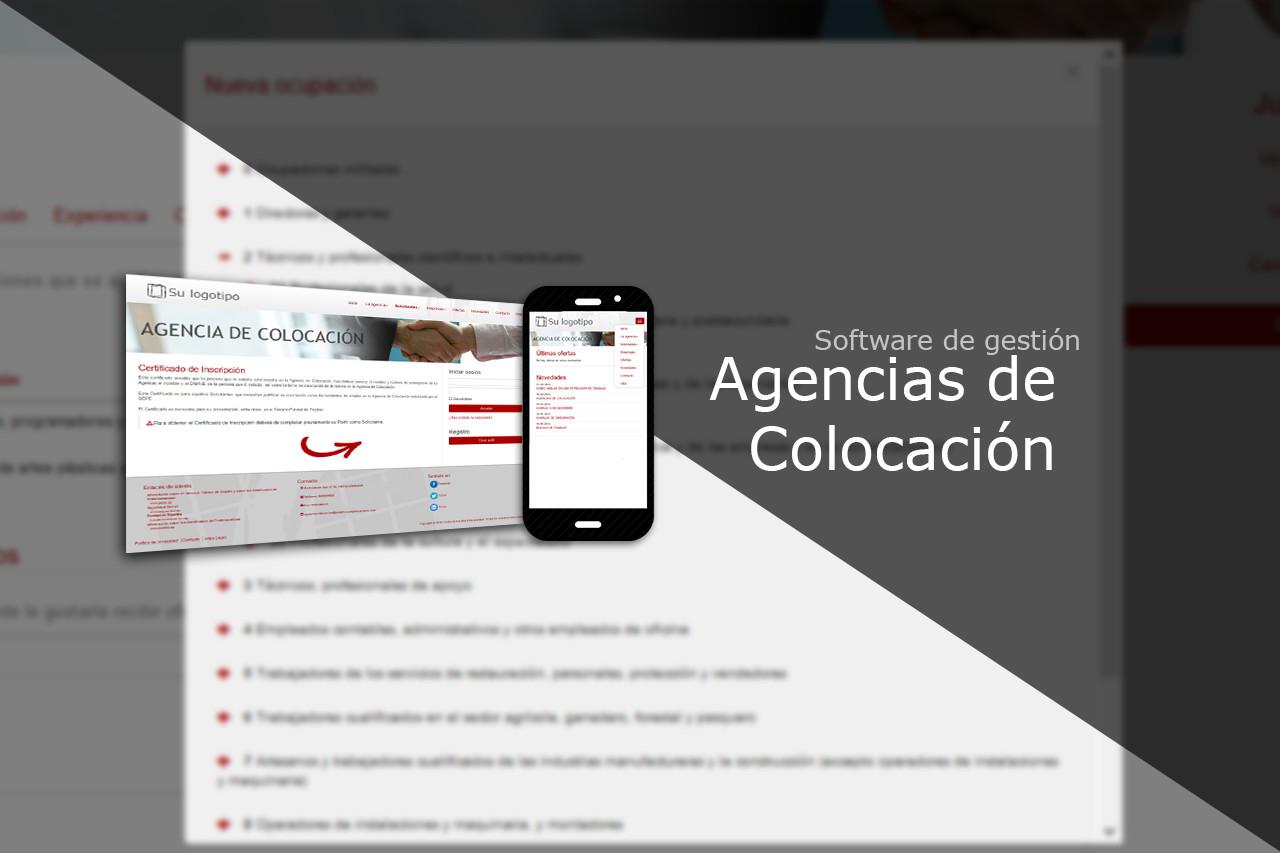 Software de gestión para Agencias de Colocación.