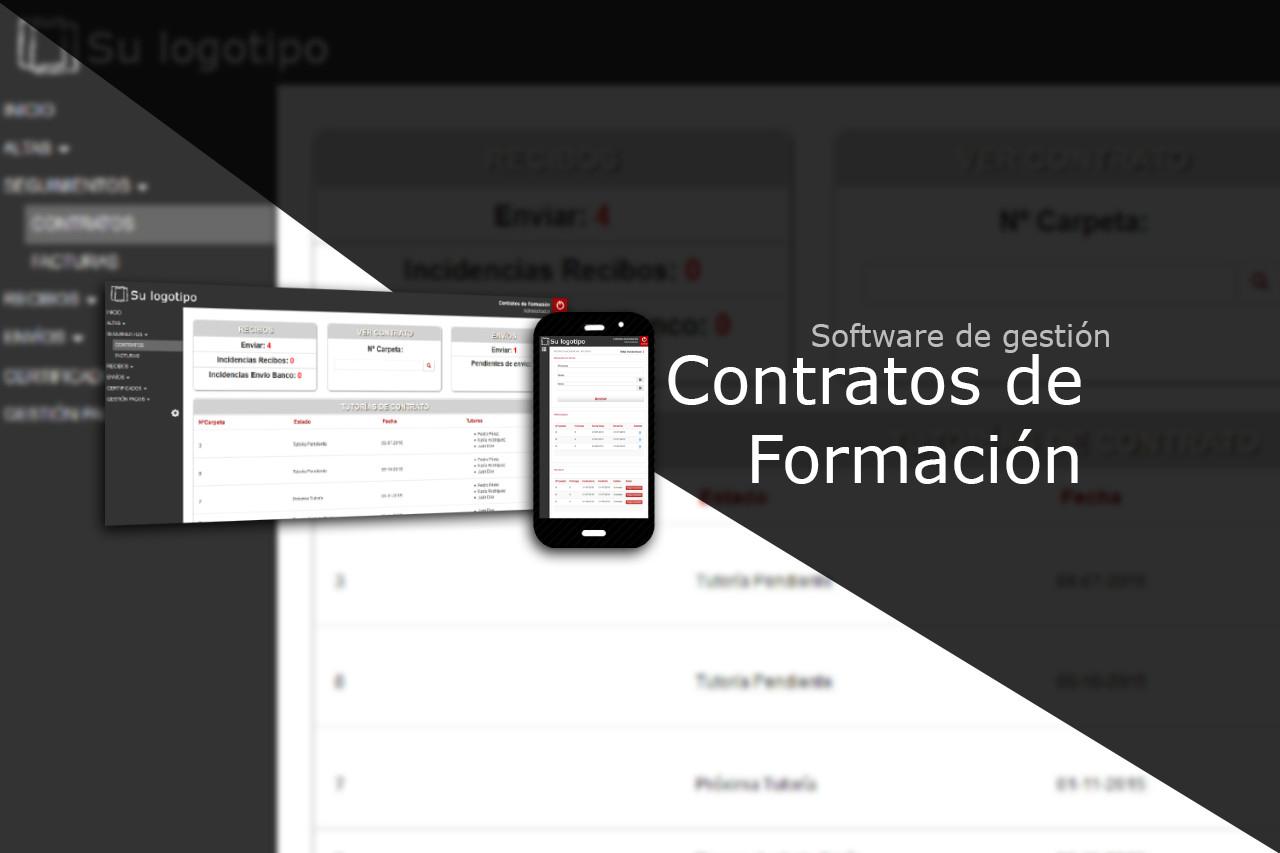 Software de gestión de Contratos de Formación.