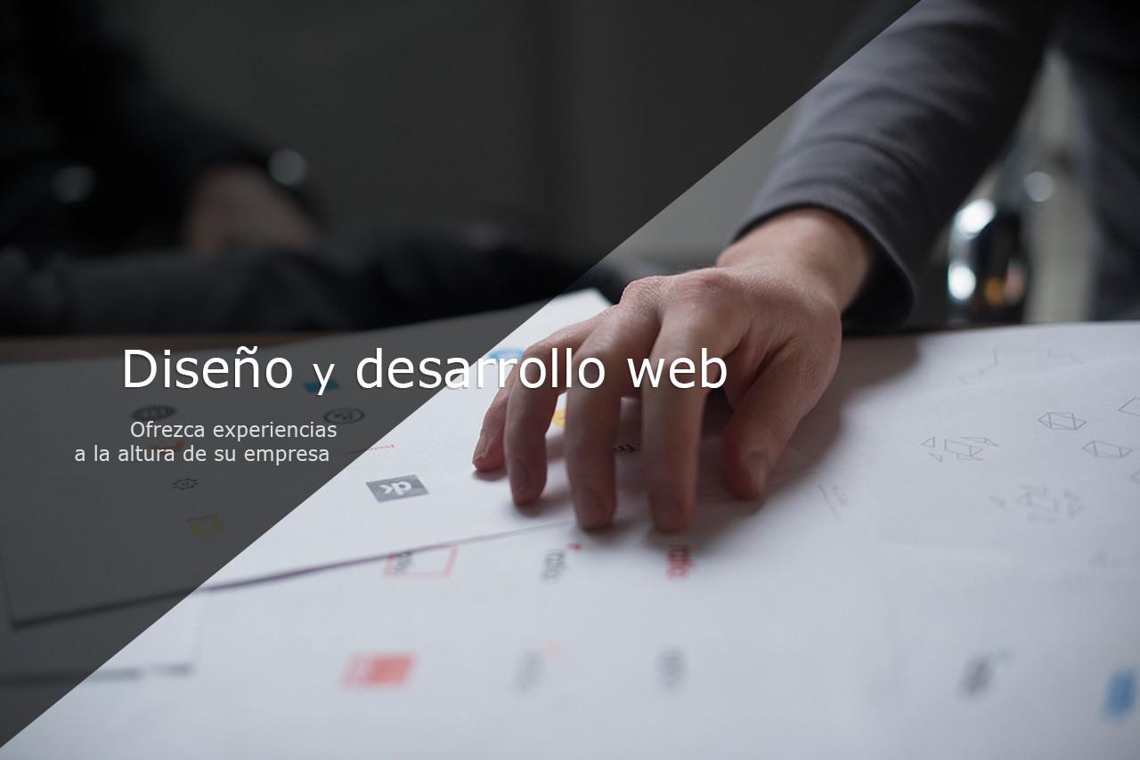 Diseño y desarrollo web. Ofrezca experiencias a la altura de su empresa.